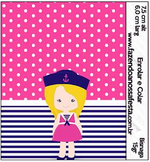 Marinerita Rubia: Etiquetas para Candy Bar para Imprimir Gratis.