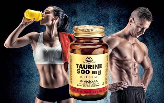 Tomar suplementos con taurina permite rendir mejor durante la rutina de ejercicios y recuperar la masa muscular rápido
