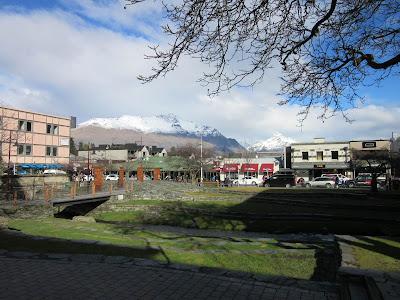Centro de Queenstown, Nueva Zelanda