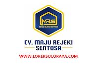 Loker Karanganyar Agustus 2021 di CV Maju Rejeki Sentosa