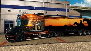 Western pack for Scania T