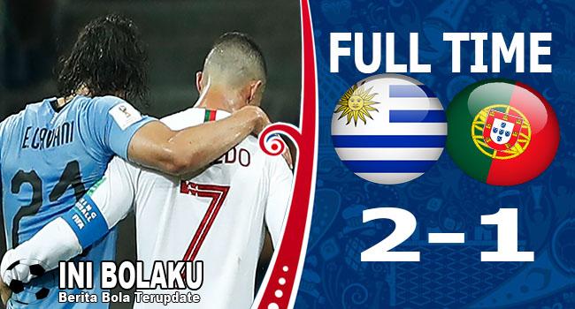 Hasil Uruguay vs Portugal Skor Akhir 2-1 | Babak 16 Besar World Cup 2018