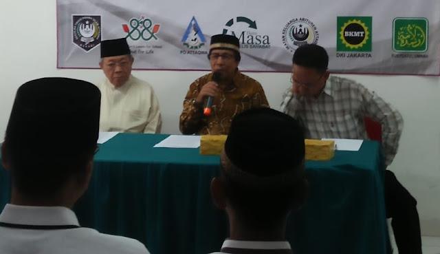 Pengurus Islamic Centre Bekasi Tolak Lahannya Digunakan Untuk Tol Becakayu