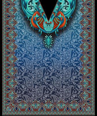 Lavanya-Geometric-Textile-Kaftan 34