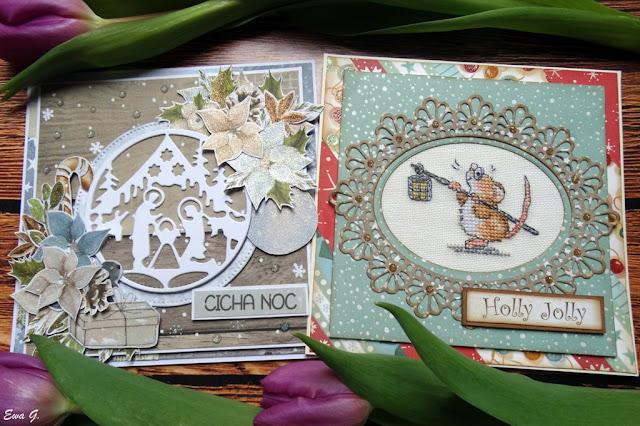 Marcowe kartki bożonarodzeniowe