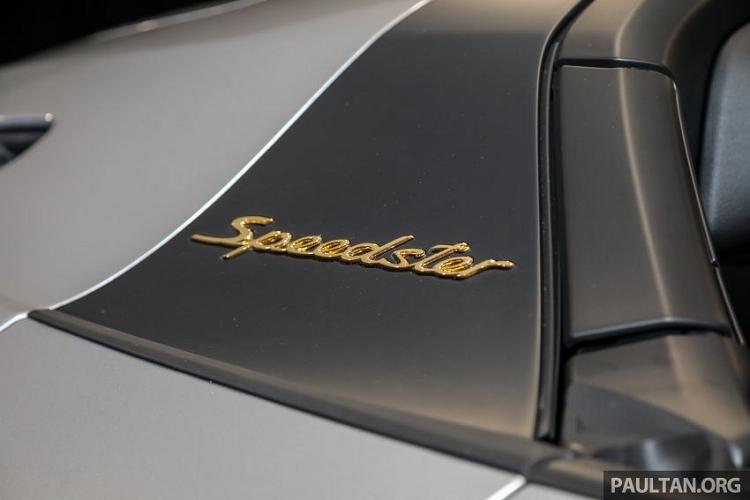 Porsche 911 Speedster siêu hiếm gần 15 tỷ đồng đến Malaysia