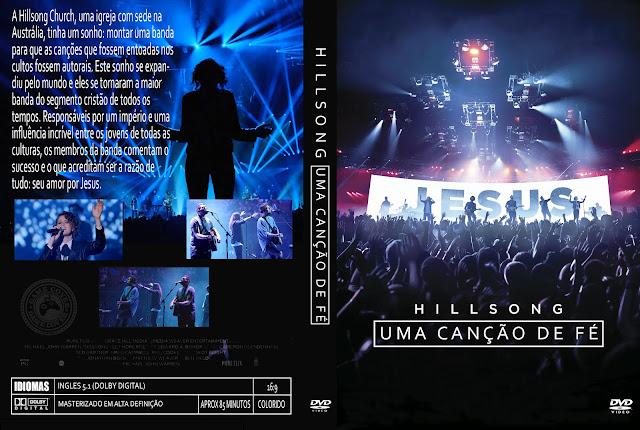 Capa DVD Hillsong Uma Canção De Fé [Exclusiva]