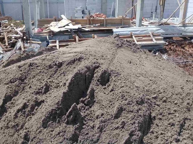 supplier pasir plester murah