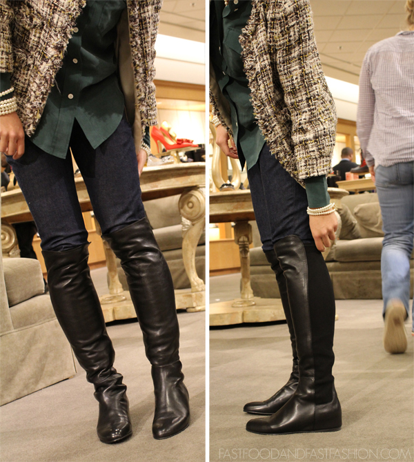 95bfdf22122 A Mishmash Post of Boots and Nature (Stuart Weitzman 50 50 Boots 50 ...