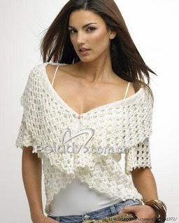lindas blusas de croche