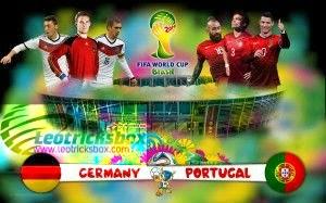 HD Video : FIFA 2014 :: Match : Germany Vs. Portugal 1