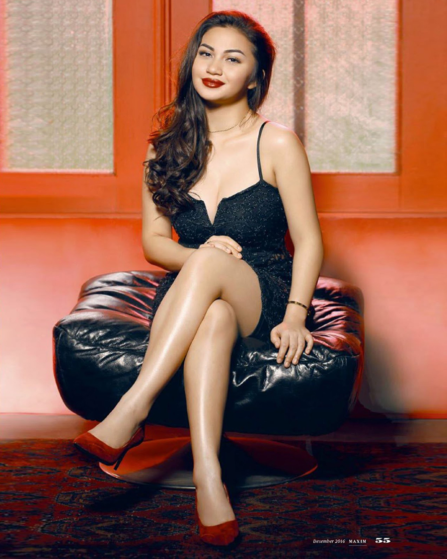 ariel tatum biodata black dress sexy and hot
