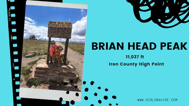 Brian Head Peak, Iron County High Point