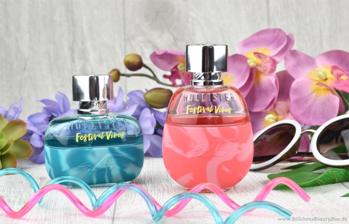 Neues Duft Duo von Hollister - Festival Vibes for Him & Her Eau de Parfum - Review