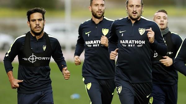El Málaga entrena hoy a las 10:30 horas
