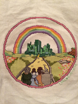 Wizard of Oz Cross Stitch