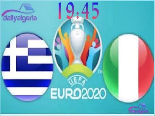 القنوات الناقلة لمباراة إيطاليا ضد اليونان  -التصفيات المؤهلة ليورو 2020 -إيطاليا ضد اليونان -يورو 2020