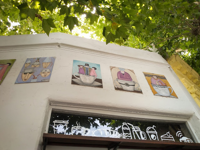 Colonia Sandwich Coffee Shop; Colonia, Uruguay