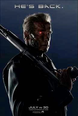 Terminator Genisys 2015 movie poster image wallpaper screensaver t800