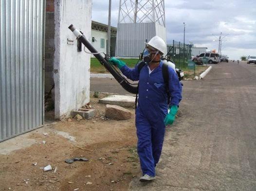 Agente de Endemias de Delmiro Gouveia participam de capacitação de Operdaor de Bomba Costal Hatsuta.