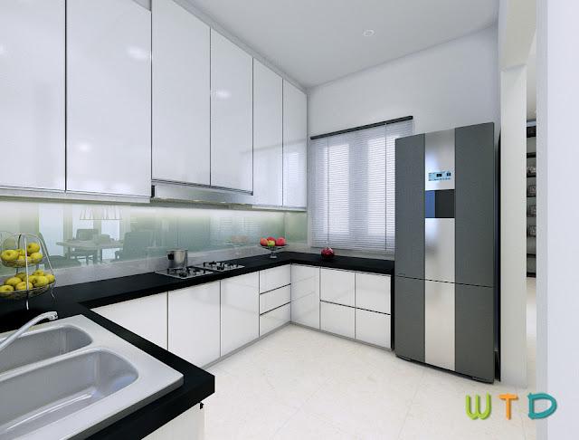 Desain Interior Rumah Tinggal Villa Citra