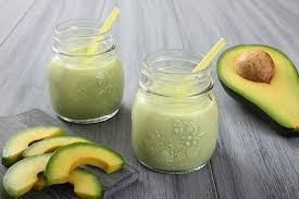 pós treino com abacate