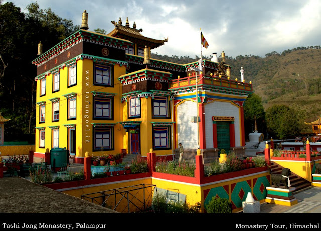 Palampur Tourist Attraction : Tashi Jong Monastery Palampur