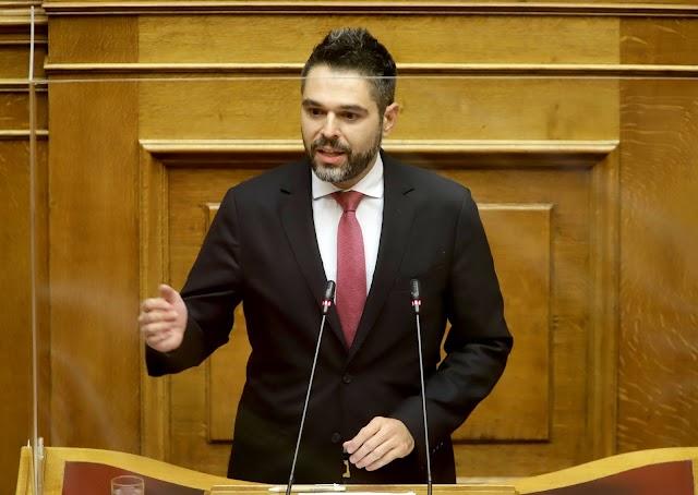Νέα παρέμβαση Γ. Σαρακιώτη στη Βουλή για τους ελαιοπαραγωγούς της βρώσιμης ελιάς