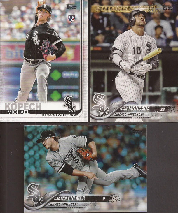 8b52a5938 I m still working on the 2018 White Sox team set