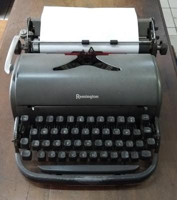 Minhas amadas máquinas de escrever