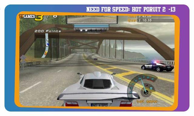 لعبة NEED FOR SPEED: HOT PORUIT 2
