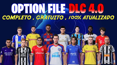 PES 2020 PS4 Compilation Option File DLC 4.0 by Dito Play