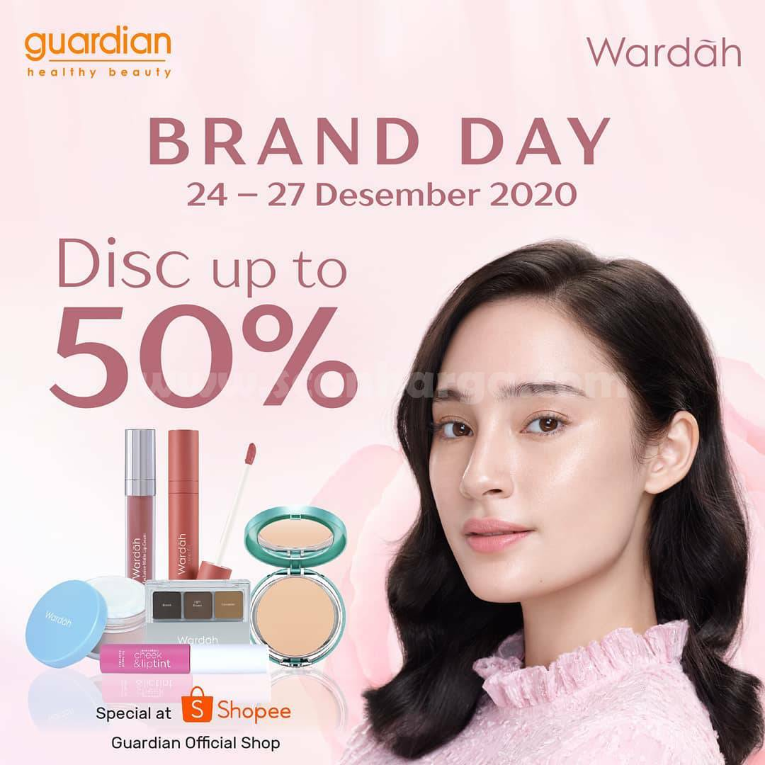 GUARDIAN Promo WARDAH BRAND DAY – Disc. Up To 50% Off at Guardian Official SHOPEE!