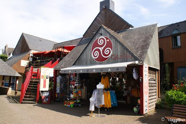 Il borgo interno di Carnac