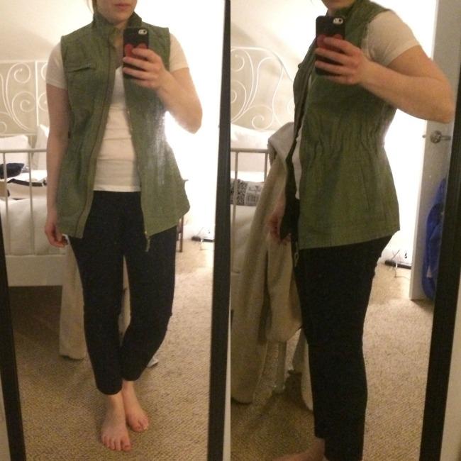 Shopping Reviews, Vol. 18 | Something Good, women, fashion, style, clothing, merona utility vest, target, target style