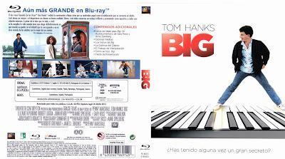 Carátula dvd / blu-ray: Big (1988) Quisiera ser grande