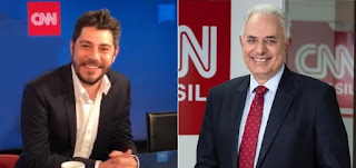 CNN Brasil contrata Evaristo Costa e William Waack