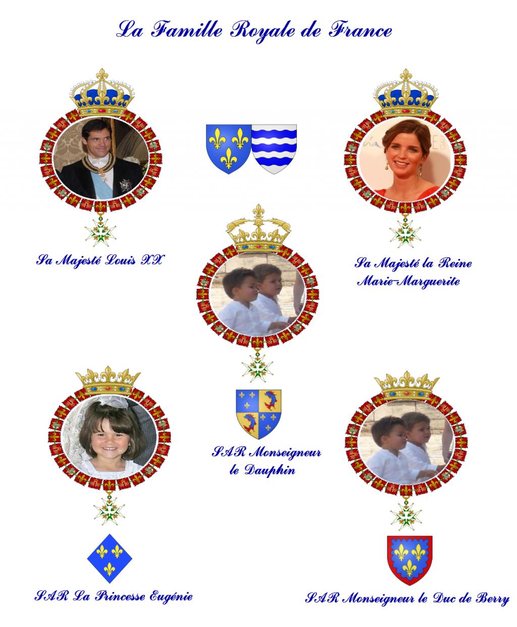 Province Legitimiste De Provence Toulon La Famille Royale