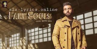 फेक सोल्स Fake Souls Lyrics in Hindi - Sippy Gill