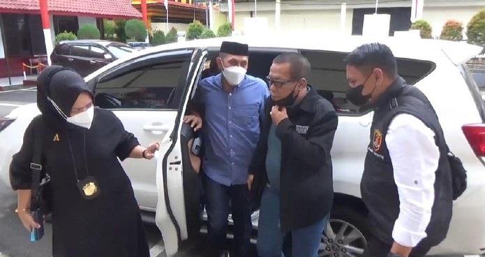 Lihat Nih! Tampang Satpol PP Gowa Tersangka Pukul Ibu Hamil Saat Dibawa ke Polres