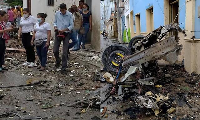 Explosión de coche bomba deja 43 personas heridas en Colombia