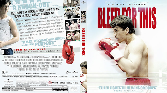 Bleed For This Bluray Cover