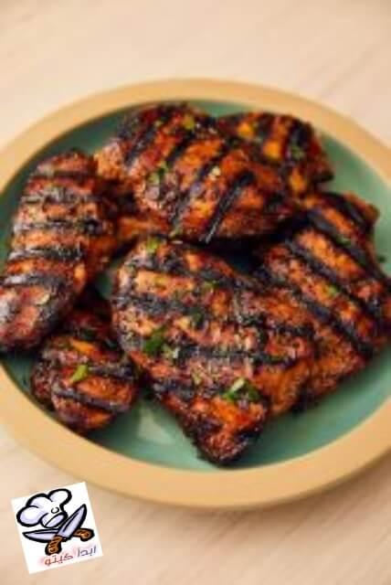 الدجاج المشوي من طبخات كيتو الشهية