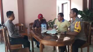 Bahas Kamtibmas, Kapolres Minsel Sambangi Ketua Ormas Adat