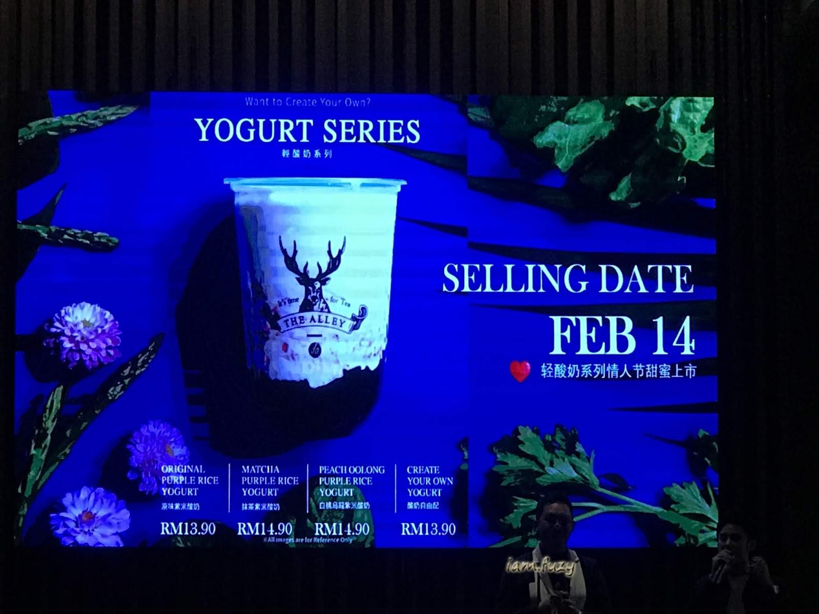 The Alley Keluarkan Siri Yogurt Slim Slim Dengan Beras Ungu