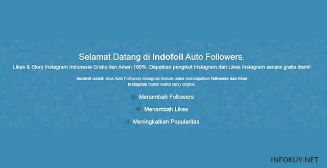 indofoll - situs auto followers instagram