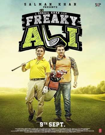 Poster Of Freaky Ali 2016 Hindi 350MB DVDScr 480p Watch Online Free Download downloadhub.in