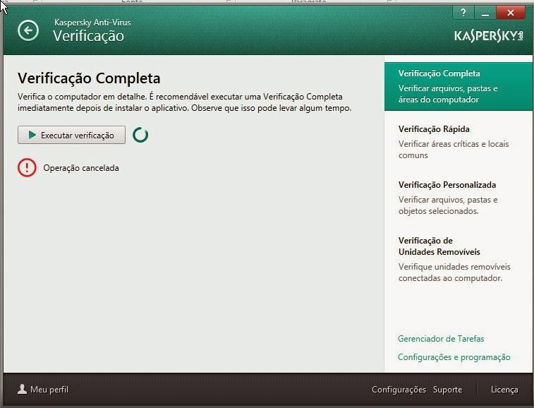 Kapersky acabe os virus