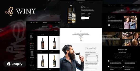 Best Wine Shop Shopify Theme