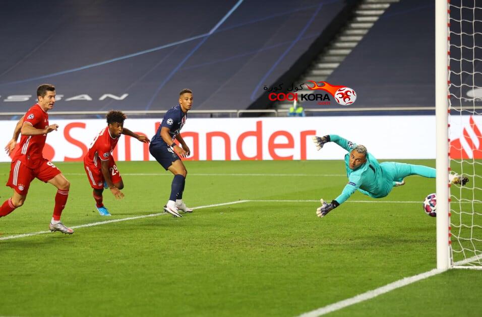 نتيجة مباراة بايرن ميونخ أمام باريس سان جيرمان في دوري الابطال